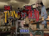 The Typing of the Dead Windows Menu