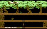 Pitfall II: Lost Caverns Commodore 64 The starting location for a new game
