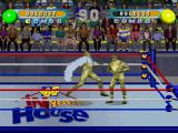 WWF in Your House PlayStation Two-players versus mode