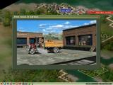 Industry Giant II Windows Animation when first vehicle enters service
