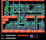 Teenage Mutant Ninja Turtles NES The sewers. Turtles can also climb stairs.