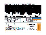Star Trader TRS-80 CoCo Starting the game in a starport