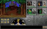 Eye of the Beholder II: The Legend of Darkmoon Amiga Approaching the temple of Darkmoon.