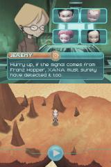 Code Lyoko: Fall of X.A.N.A Nintendo DS Starting to explore the first level