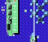 Gun-Nac NES The sweeper special-weapon moves vertically across the screen literally wiping away enemies.