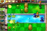 Plants vs. Zombies iPhone Defending the backyard pool