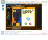 Tetris Friends Browser ...let the players choose between different maps.