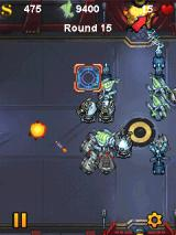 Fieldrunners J2ME The crossrpads. Attacks spawn from two locations