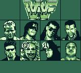 WWF Raw Game Boy I chose the Undertaker, the CPU chose Doink.