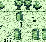 Captain America and the Avengers Game Boy Vision shooting energy beams.