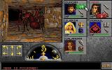 Eye of the Beholder II: The Legend of Darkmoon Amiga One of my fighters was poisoned during a fight with a giant red ant.