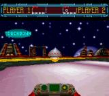 Space Football: One on One SNES Scored a touchdown