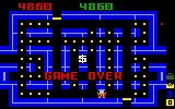 Lock 'n' Chase Intellivision Game over