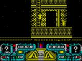 Dalek Attack ZX Spectrum Use the ladder to ascend the building