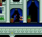 X-Men Game Gear Wolverine, going to punch a thug