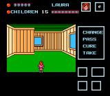 Friday the 13th NES Exploring a house