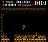 Friday the 13th NES In a cave