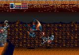 Golden Axe III Genesis Ancient Mound: the panther with an acrobatic move