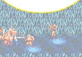 Golden Axe III Genesis Cave of Crystal: Ax and Tyris combine their magic in the coop-mode to summon this huge fireball