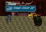 Golden Axe III Genesis The Gate of Fate: Showdown with Death Adder inside the castle
