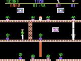 The Heist ColecoVision Oops, behind a brick wall