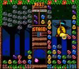 Kirby's Avalanche SNES An important part of the gameplay is making combo's as they will start an avalanche of boulders on your opponent's side of the screen