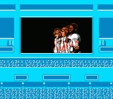 NES Play Action Football NES Players at attention
