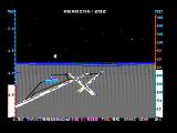 Jet DOS The games demo flight (CGA with composite monitor)