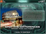 The History Channel: Lost Worlds Windows You must again spot the differences between two pictures in the first puzzle of the Ancient Rome world.