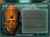The History Channel: Lost Worlds Windows Introduction to the Ancient Egypt world.