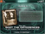 The History Channel: Lost Worlds Windows Like the Mesoamerica and Ancient Rome worlds, the first puzzle of the Ancient Egypt world involves spotting differences between two pictures.