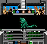 Godzilla 2: War of the Monsters NES This is what an attack looks like at first