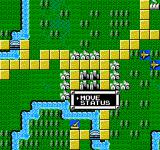 Godzilla 2: War of the Monsters NES You move your units with a menu