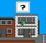 Mario is Missing! NES A suspicious looking koopa nearby. And he was just jaywalking. Better jump on his head!