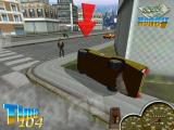 Super Taxi Driver Windows Flipped the car in front of a customer! It will be put back on its wheels automatically.