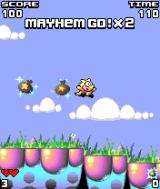 Mayhem's Magic Dust J2ME Dust bags can be collected from defeated enemies