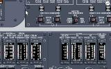 Shuttle: The Space Flight Simulator DOS A part of the control panel