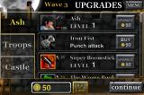 Army of Darkness: Defense iPhone Upgrading Ash between waves.