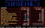Soko-Sex DOS Some end of level statistics