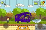 Scribblenauts Remix iPhone And here's Abraham Lincoln towing a whale in his purple crane truck in the normal playground.