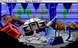 Space Quest III: The Pirates of Pestulon Macintosh Aboard the Junk Freighter