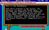 Mavis Beacon Teaches Typing! DOS Chalkboard (EGA / Mouse supported version)
