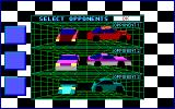 Stunt Driver DOS Great AI, All Opponents Reacted Very Differently (EGA/Tandy 16 colors)
