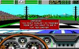 Stunt Driver DOS Begin with Warning (EGA/Tandy 16 colors)