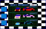 Stunt Driver DOS Great AI, All Opponents Reacted Very Differently (VGA 16 colors)