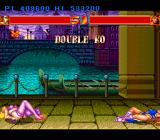 Strip Fighter II TurboGrafx-16 Double K.O. You don't see this often in fighting games