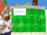 Plants vs. Zombies iPad Greetings! This guy is crazy!