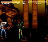 Killer Instinct SNES Orchid finishes his brother Jago with her crazy eyes move