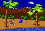 Tails and the Music Maker SEGA Pico Click On Sonic for Him to Spin-Dash Wrapping around the Screen