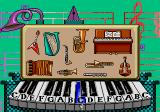 """Tails and the Music Maker SEGA Pico """"Sound Studio"""" Free play the piano, click on instruments to hear tunes."""